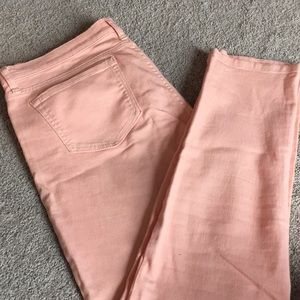 Banana Republic coral jeggings